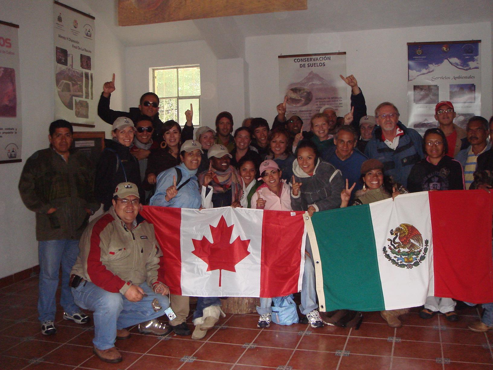 In Nevado de Colima National Park