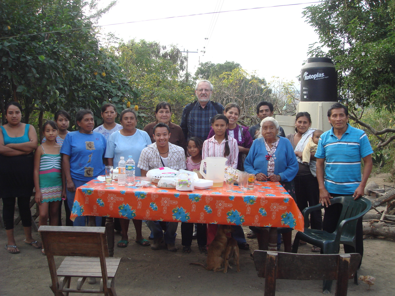 An indigenous community in Mexico